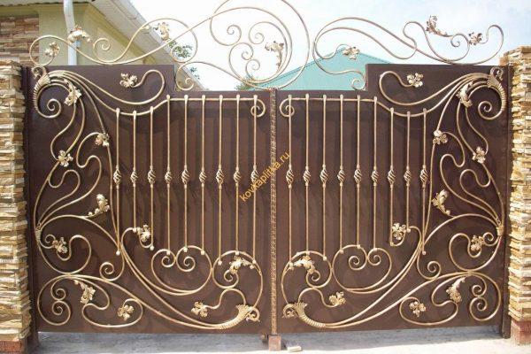 Кованная ворота