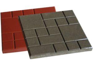Тротуарная плитка Шоколадка