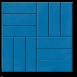 12 кирпичей синый