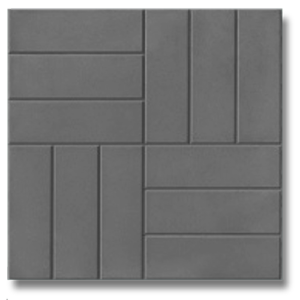 12 кирпичей серый