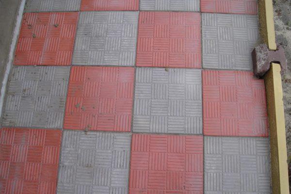 Тротуарная плитка паркет