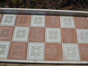 Тротуарная плитка квадрат Краковский