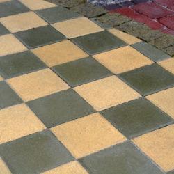 Тротуарная плитка гладкая 50x50