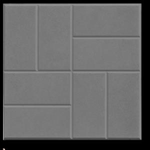 Тротуарная плитка 8 кирпичей