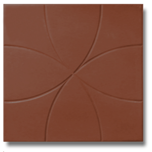 Цветок коричневый