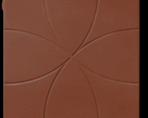 Тротуарная плитка цветок коричневый