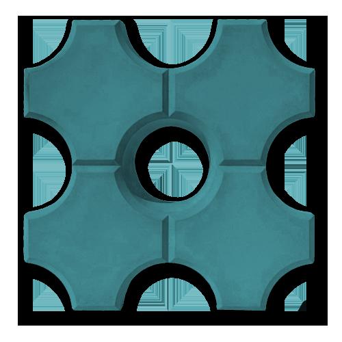 Эко синий
