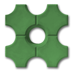 Эко зеленый