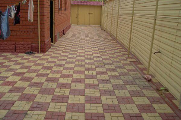 Тротуарная плитка калифорния