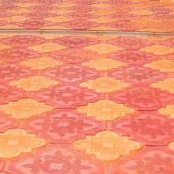 Тротуарная плитка клевер краковский