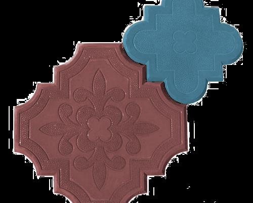 Клевер краковский коричневый и синий