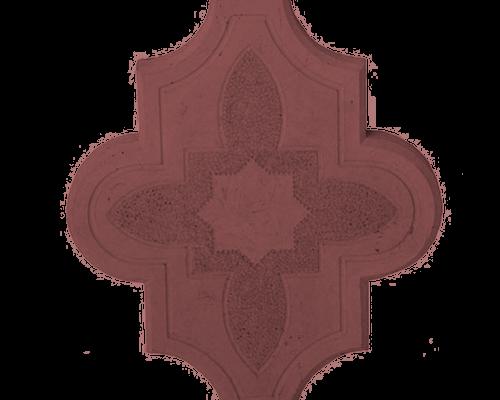 Клевер узорный коричневый