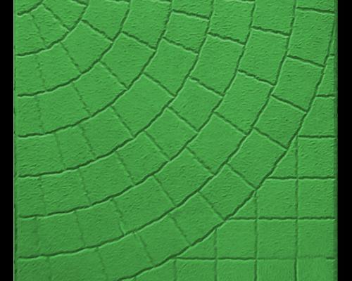 Тротуарная плитка колодец зеленый