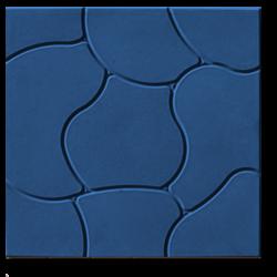 Тротуарная плитка Облако синий