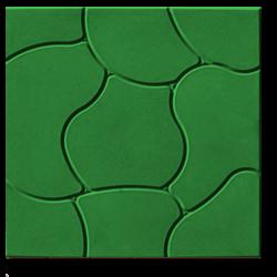 Тротуарная плитка Облако зеленый