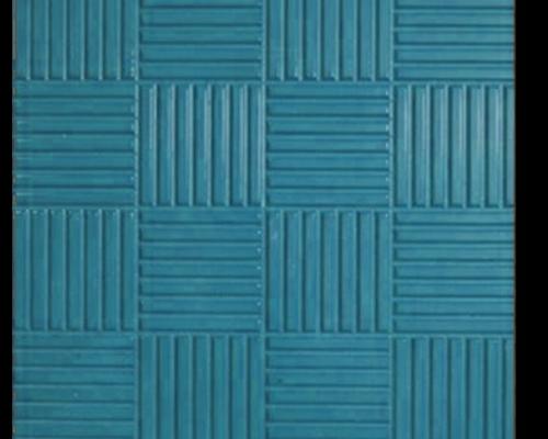 Тротуарная плитка паркет синий