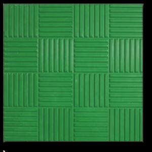 Тротуарная плитка паркет зеленый