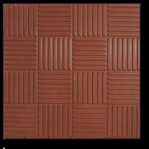 Тротуарная плитка паркет коричневый