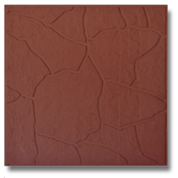 Тротуарная плитка Тучка каричневый