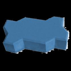 тротуарная плитка волна синий