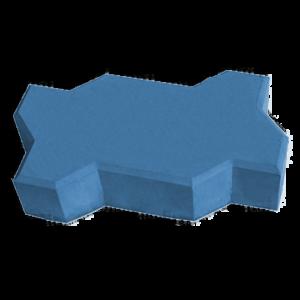 Волна синий