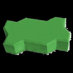 тротуарная плитка волна зеленый