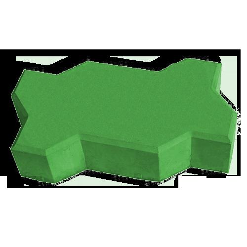 Волна зеленый
