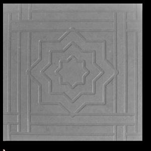 Тротуарная плитка звездочка серый