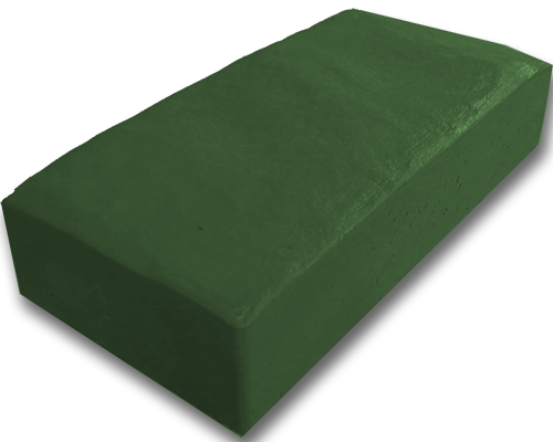 Тротуарная плитка английский булыжник зеленый