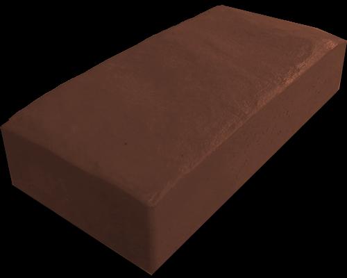 Тротуарная плитка английский булыжник коричневый