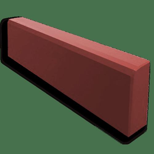 Дорожные бордюры красный