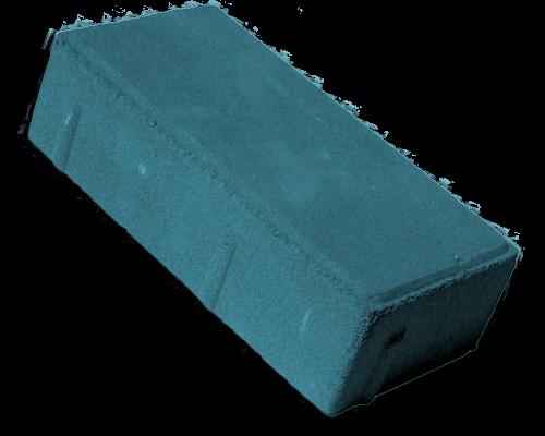 тротуарная плитка брусчатка синий