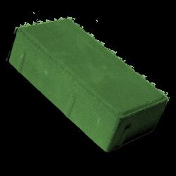 тротуарная плитка брусчатка зеленый