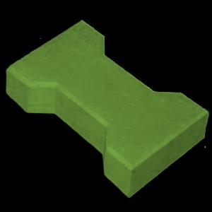 Тротуарная плитка катушка зеленый