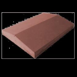 Крышка на забор коричневый