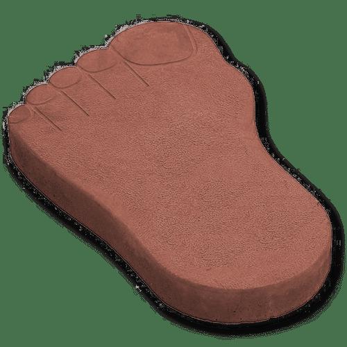Тротуарная плитка следы великана