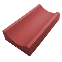 Водостоки красный